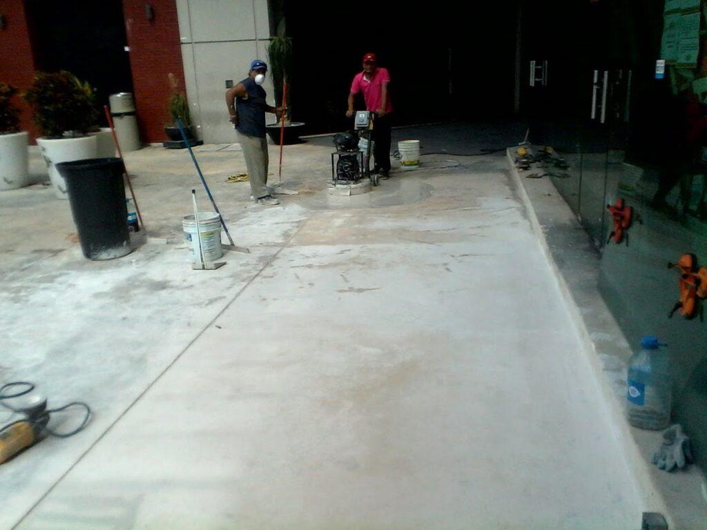 desbastado de pisos en cancun-